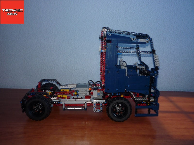 41999 b model man tgx xxl 2013 lego technic by. Black Bedroom Furniture Sets. Home Design Ideas