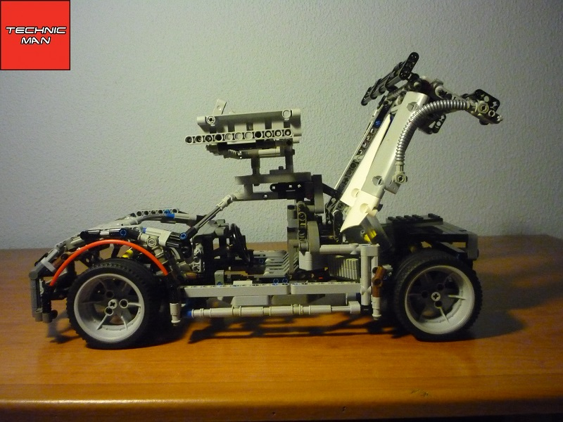 gumpert apollo r 08 lego technic by technic man. Black Bedroom Furniture Sets. Home Design Ideas